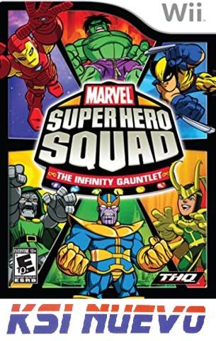 JUEGO PARA WII MARVEL SUPER HERO SQUAD - foto 1