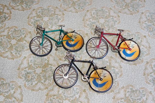 3 Miniaturas Bicicletas Encendores