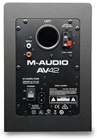 M-AUDIO AV42 ALTAVOCES ACTIVOS COMPACTOS - foto 4