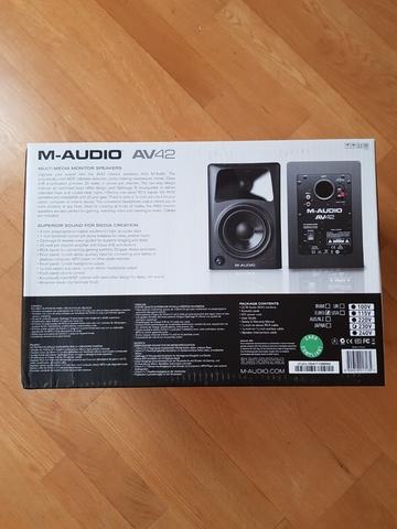 M-AUDIO AV42 ALTAVOCES ACTIVOS COMPACTOS - foto 8