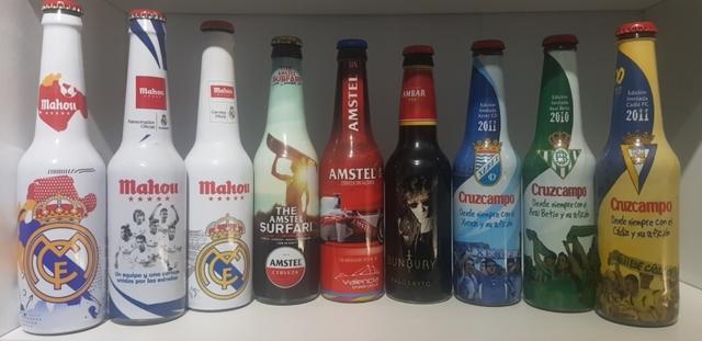 Botellas Cerveza De Colección