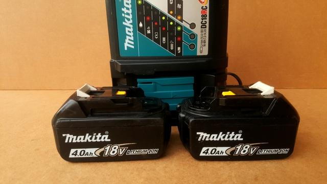 Baterías Makita 18V 4 Ah + Cargador