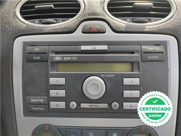 RADIO / CD FORD FOCUS BERLINA CAP 2004 - foto 1