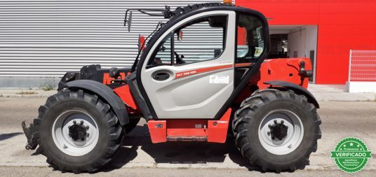 MANITOU MLT 733-100 D ST 4 S2 TRACT LSU - foto 1