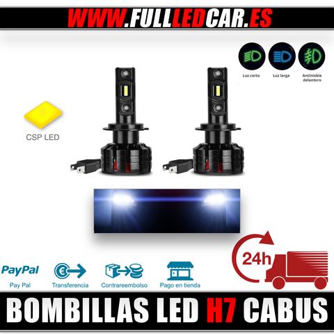 BOMBILLAS LED H7 CANBUS 10000LM 6500K - foto 1