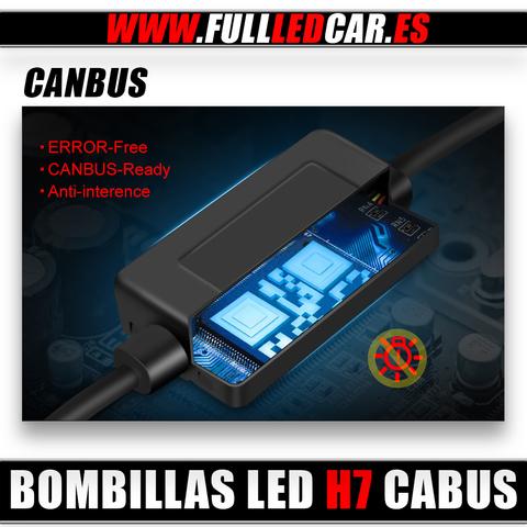 BOMBILLAS LED H7 CANBUS 10000LM 6500K - foto 2