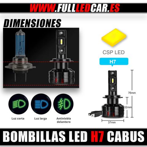BOMBILLAS LED H7 CANBUS 10000LM 6500K - foto 6