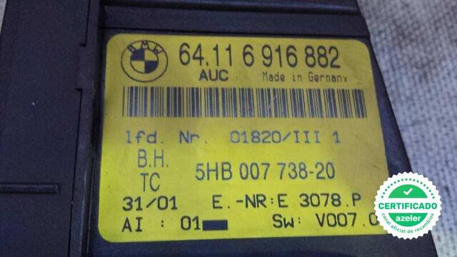 MANDO CLIMATIZADOR BMW SERIE 3 BERLINA - foto 4