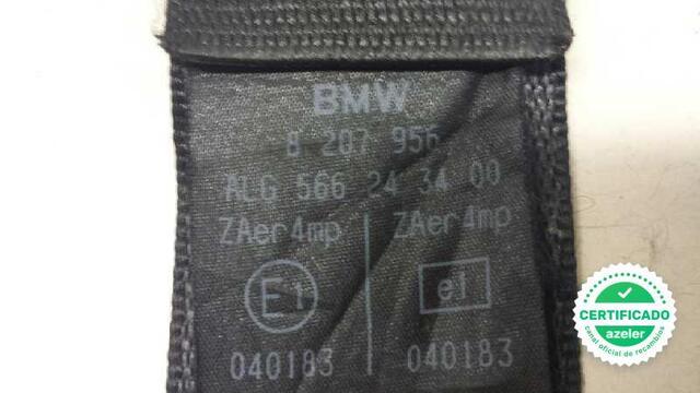 CINTURON SEGURIDAD DELANTERO DERECHO BMW - foto 3