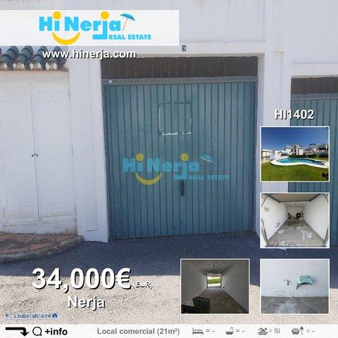 HI1402 GARAJE CERRADO EN BURRIANA VIÑAMA - foto 1