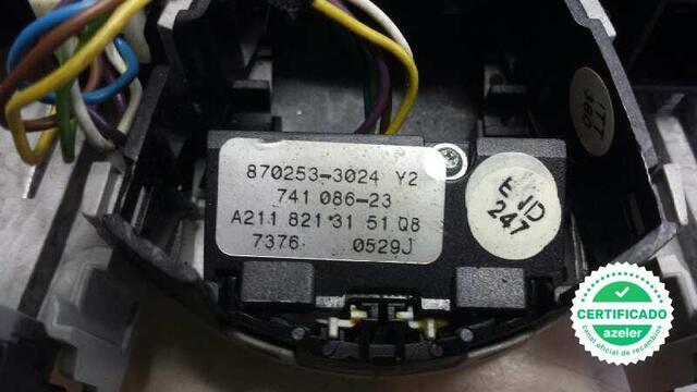 LUZ INTERIOR MERCEDES CLASE CLS W219 320 - foto 5
