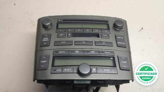 SISTEMA AUDIO RADIO CD TOYOTA AVENSIS - foto 1