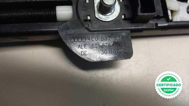 CINTURON SEGURIDAD DELANTERO AUDI S8 4E - foto 4