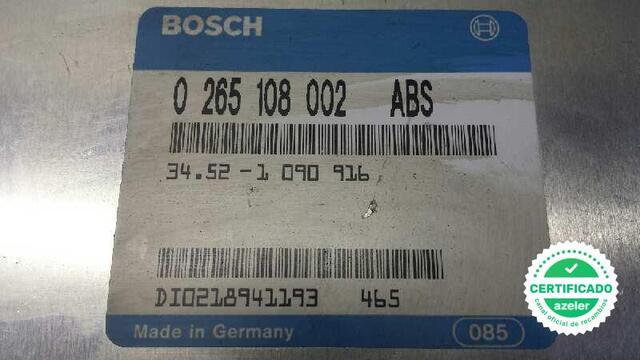 CENTRALITA ABS BMW SERIE 5 BERLINA E34 - foto 2