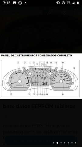 BASE DATOS EEPROM TABLEROS - foto 2