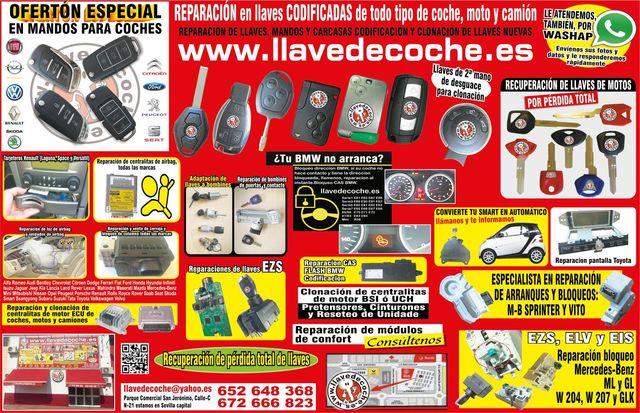 LLAVE DE COCHE SEVILLA 672666823 - foto 1