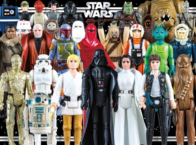 Se Compran Figuras Star Wars
