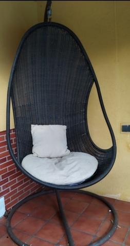 silla colgante para terraza segunda mano