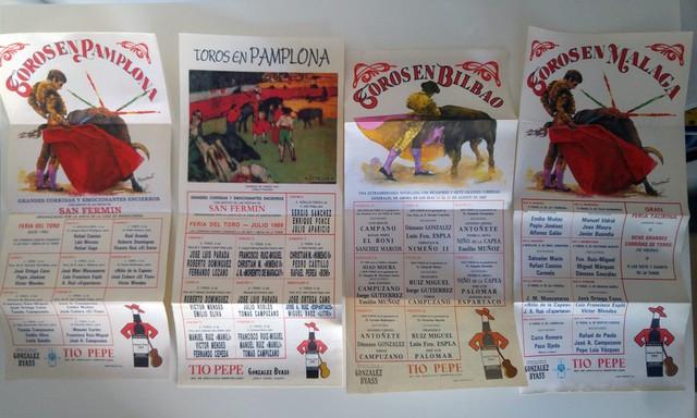Carteles Taurinos Años 80