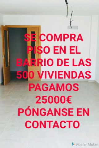 COMPRO PISO EN ALBACETE BARRIO LAS 500 - foto 1
