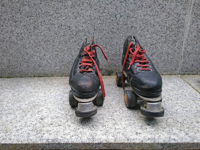 Patines-Bota De Hockey Patines