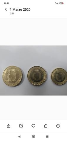 Monedas De Euro Malta