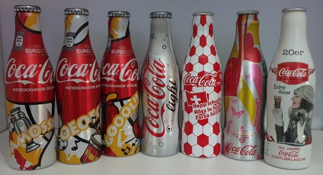 Botellas Coca Cola Colección