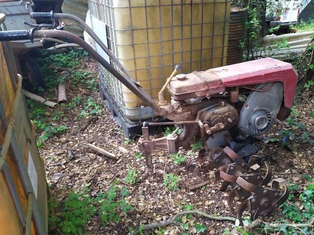 MOTOCULTOR CON REMOLQUE - foto 1
