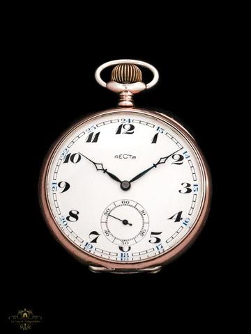 Reloj Antiguo De Plata Suizo Vendido