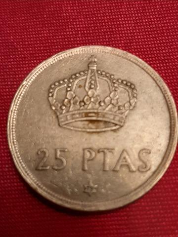 Moneda 25 Pesetas Del 1975