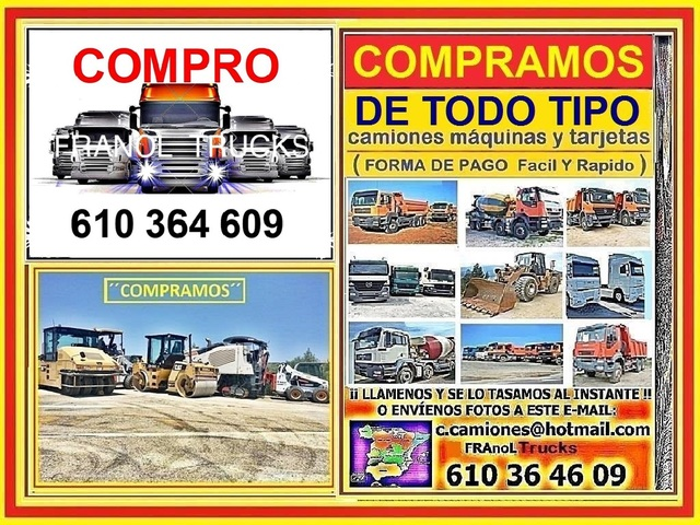 ( COMPRAMOS CAMIONES TODO TIPO ) - foto 9