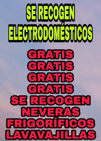 SE RECOGEN ELECTRODOMÉSTICOS GRATIS - foto 1