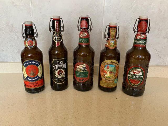 Botellas De Cerveza De Colección