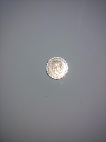 Moneda De Franco De 50 Céntimos Del 1966