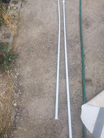 Conjunto Barras Cortinas 180 Cm