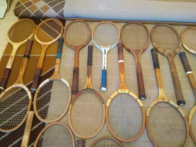 Coleccion Raquetas Tenis Antiguas