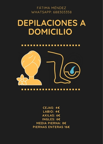 DEPILACIONES Y PELUQUERA A DOMICILIO - foto 1