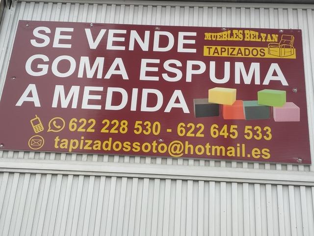 Goma Espuma A Medida