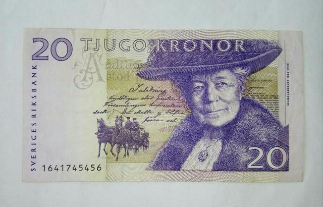 Billete Sueco
