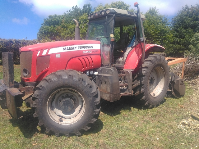 Massey Ferguson 255 265 270 275 Tractor manuales de taller 290-serie 200