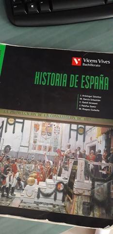 LIBRO HISTORIA 2° BACHILLERATO - foto 1