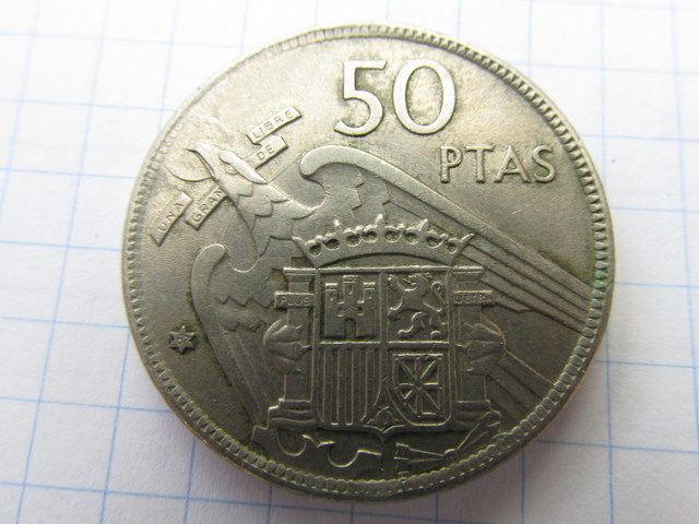 Monedas Franco 50 Pts