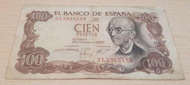 Billete España 100 Pesetas
