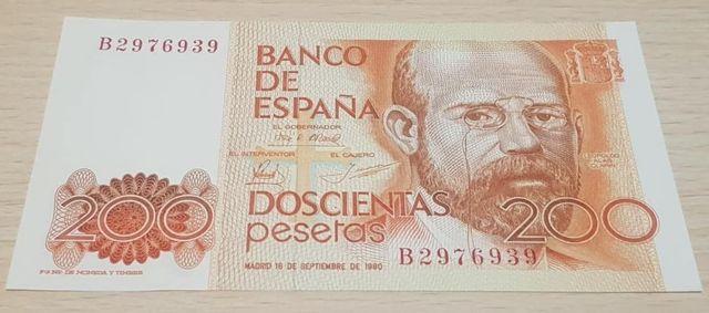 Billete España 200 Pesetas