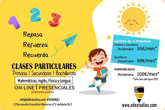 EDESTUDIOS CLASES PARTICULARES - foto 1