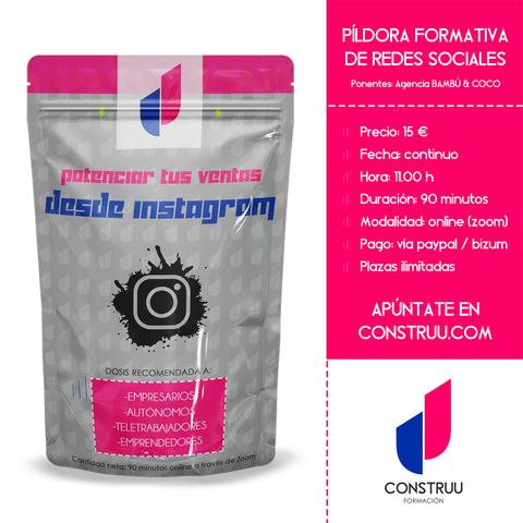 PÍLDORA FORMATIVA - REDES SOCIALES - foto 1