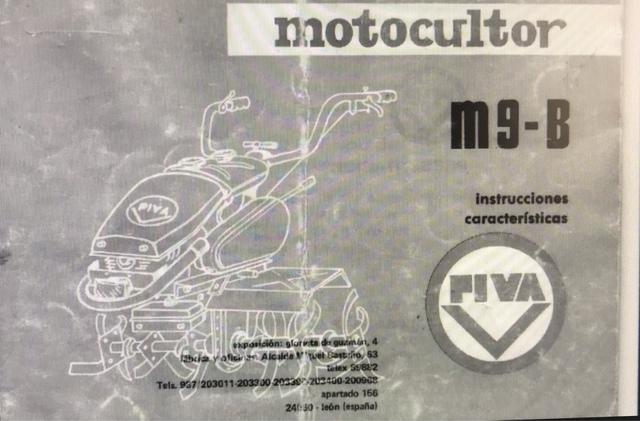 MOTOCULTOR MULA MECÁNICA PIVA M9B - foto 5