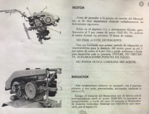 MOTOCULTOR MULA MECÁNICA PIVA M9B - foto 9