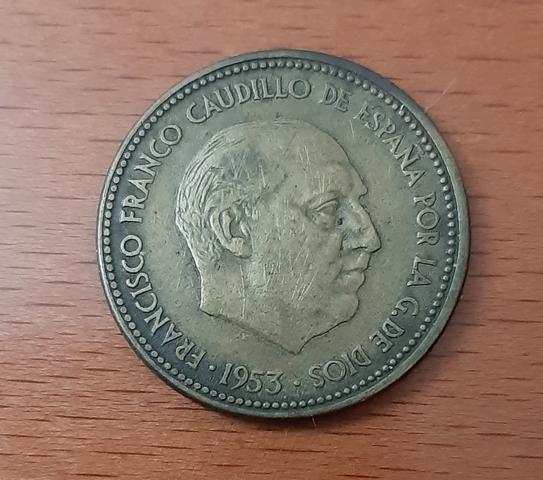 Moneda De 2,5 Pesetas.
