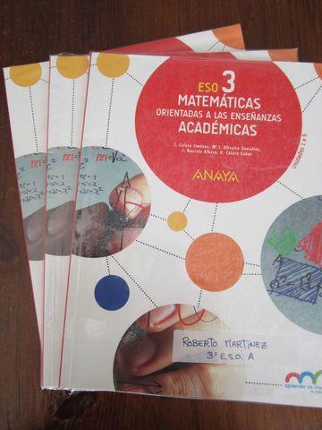 Mil Anuncios Com 3ºeso Matematicas Academicas Anaya